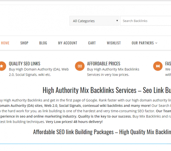 seo backlinks services project